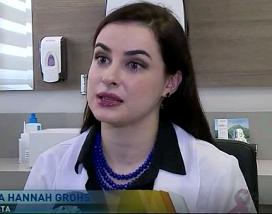 Entrevista SBT: cuidados com a pele devem começar na infância
