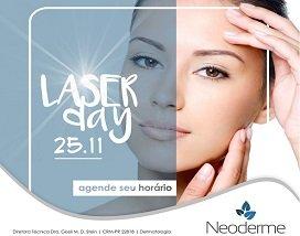 25/11, Laser Day: tratamentos a laser na Neoderme