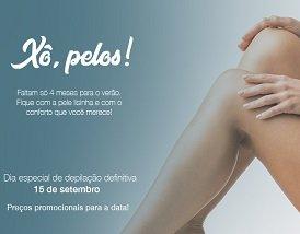 Dia especial de depilação definitiva em Curitiba: agende seu horário!