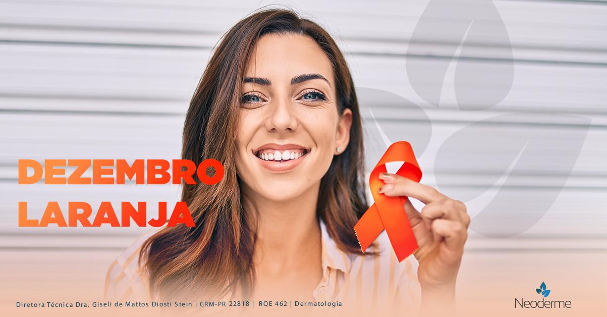 Dezembro laranja reforça a importância da prevenção ao câncer de pele