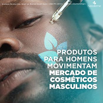 Produtos para homens movimentam mercado de cosméticos masculinos